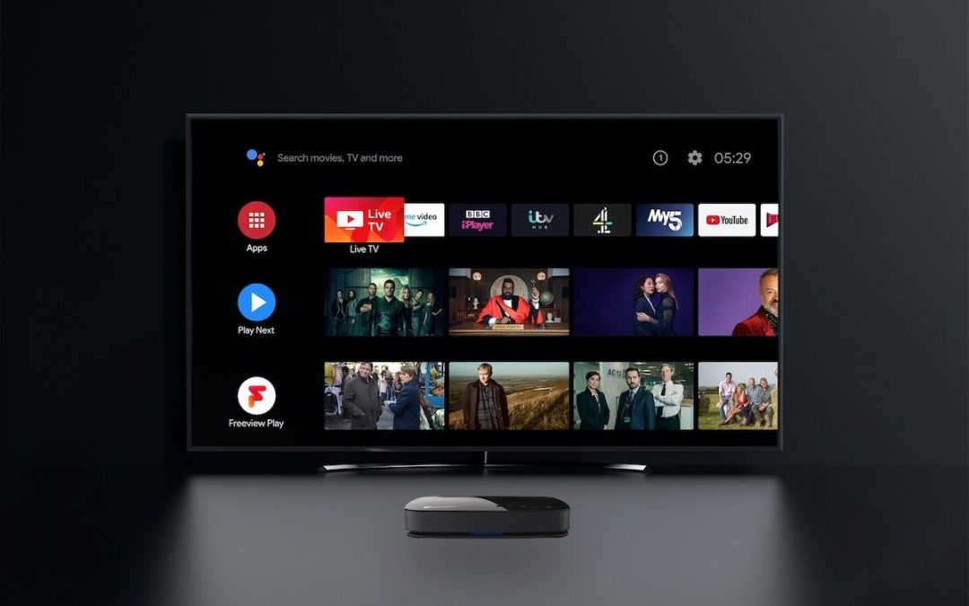 Humax introduces AURA: First Android TV 4K Freeview Play Recorder